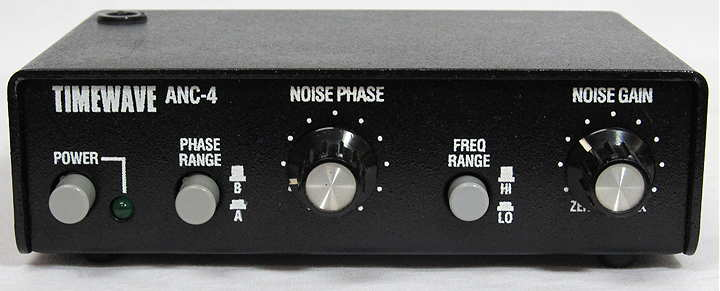 The Timewave ANC-4 Active Noise Canceller Front View