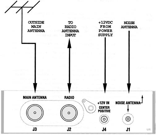 Timewave ANC-4 Installation Diagram