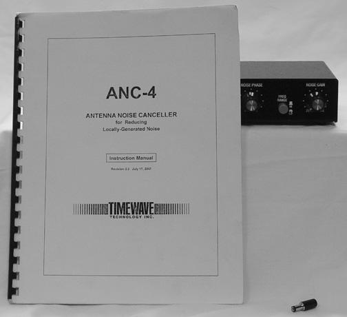 Timewave ANC-4 Noise Cancelling Unit