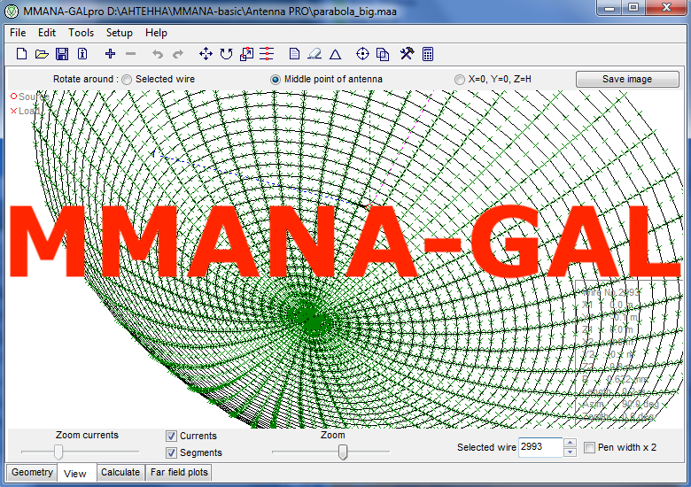 MMANA-GAL Antenna Design & Modeling Software