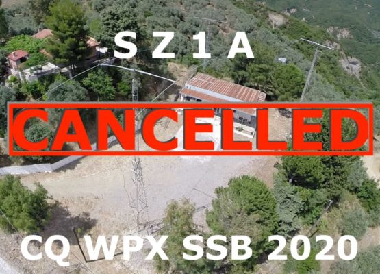 SZ1A CQ WPX SSB CONTEST 2020 CANCELLED