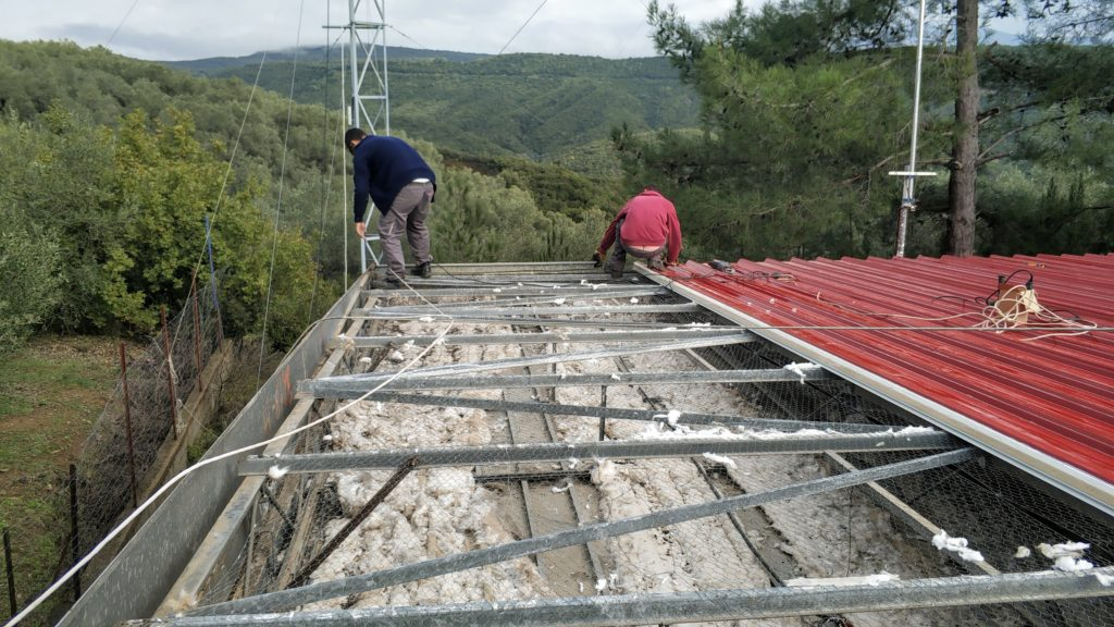 New Roof & Insulation at SZ1A