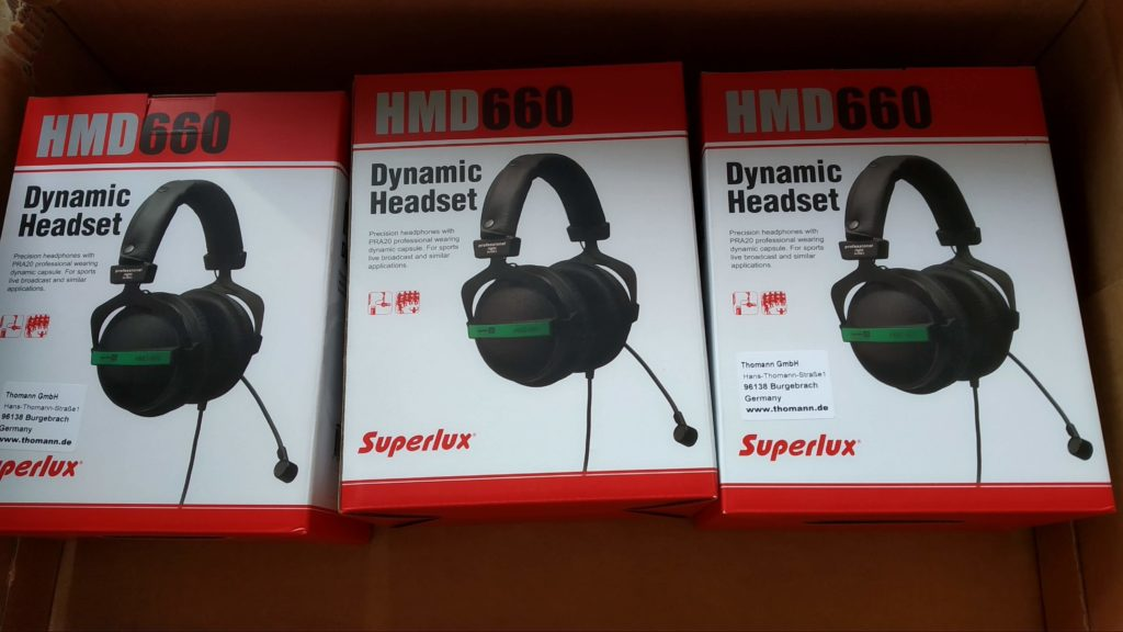 New HMD660 Headsets