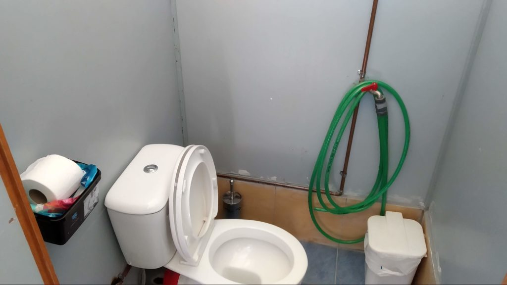 New Bathroom at SZ1A