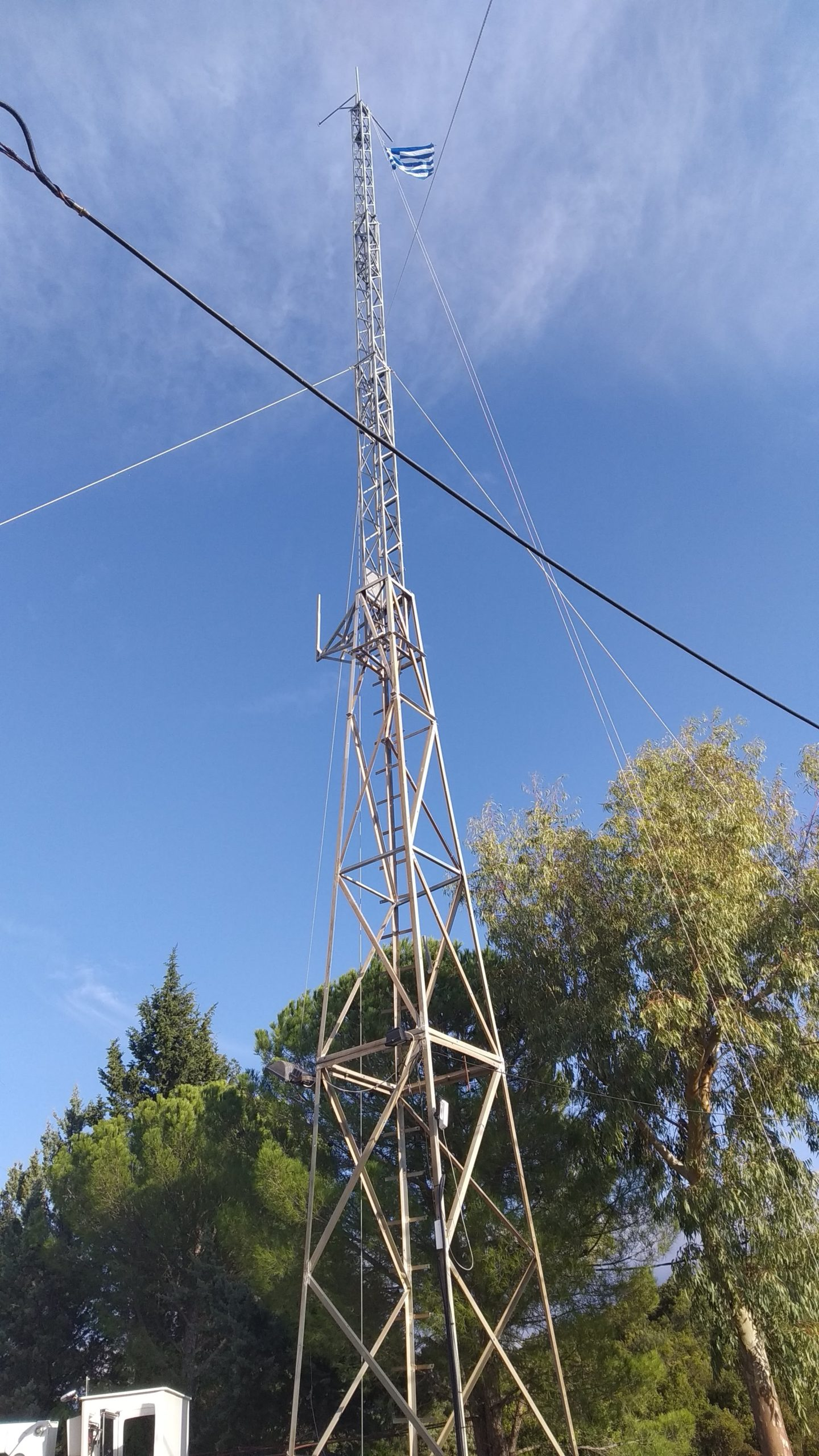 Upgraded Tower 3, now standing at 23m High