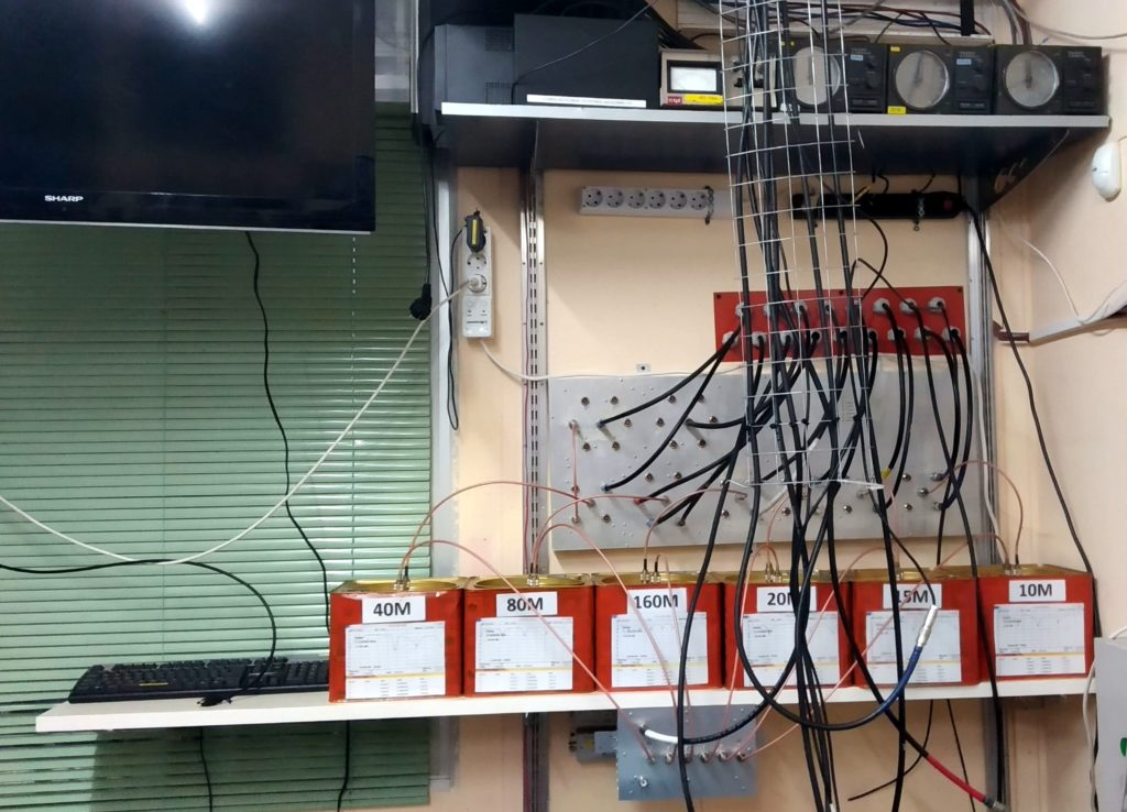 New Antenna Switch Panel at SZ1A