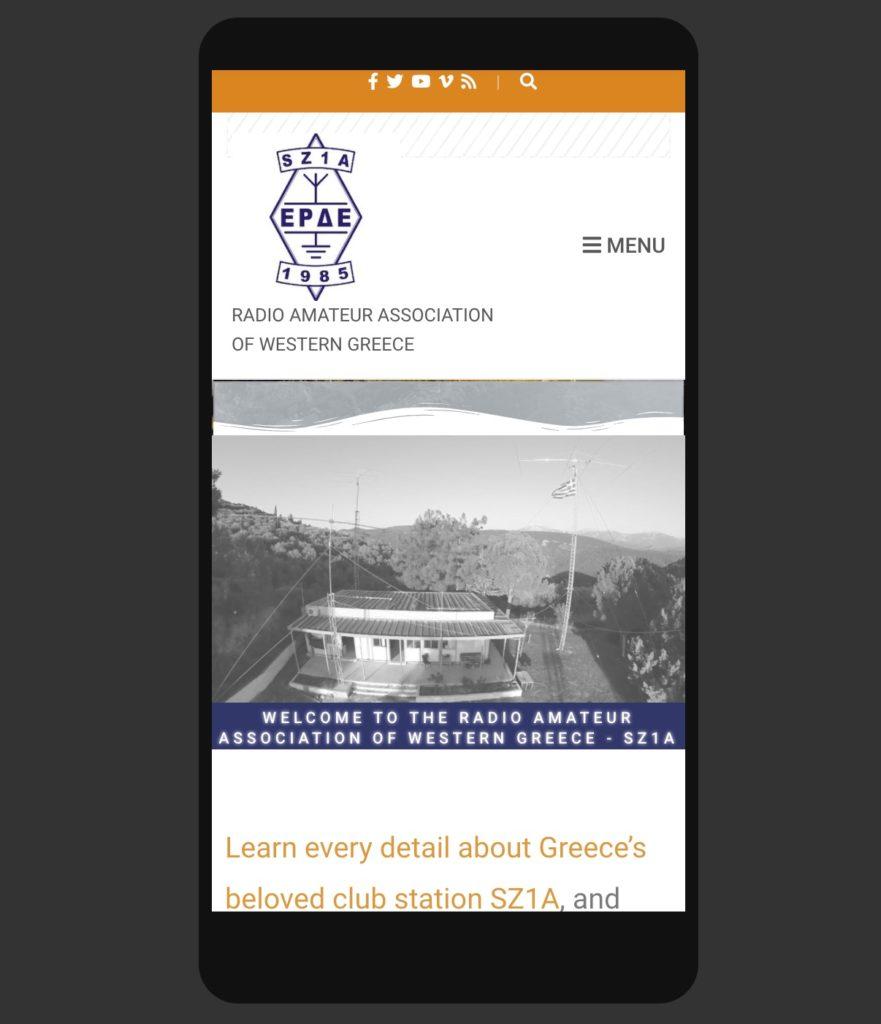 New SZ1A Website Mobile & Tablet Friendly