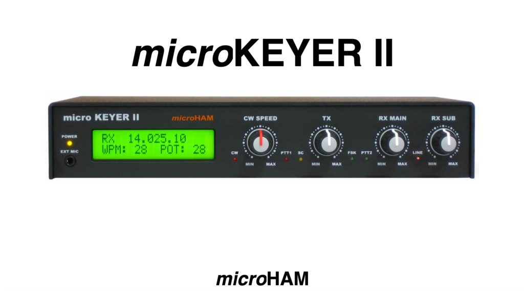 microHAM microKeyer II