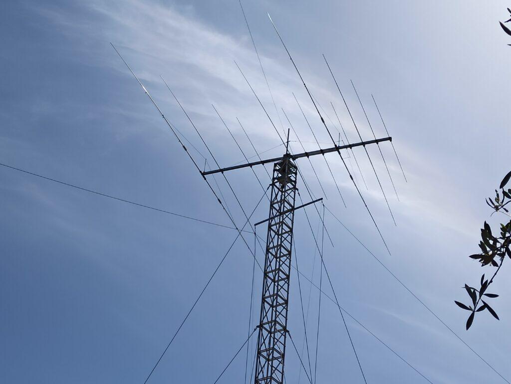 Optibeam ΟΒ12-4 Multiband Yagi Antenna at SX9V