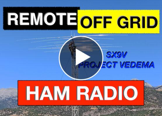 Project Vedema SX9V Remote Off Grid Ham Radio